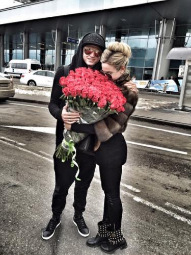 Российская певица Ольга Бузова с мужем Дмитрием Тарасовым