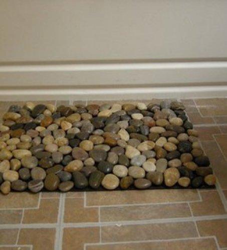 Прочный половик из камня с эффектом массажа