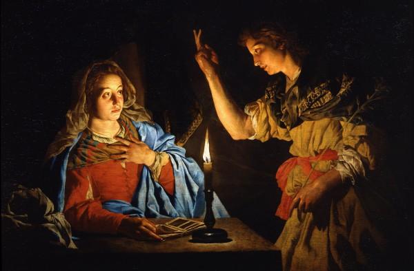 Католическая церковь отмечает Благовещение Девы Марии 25 марта