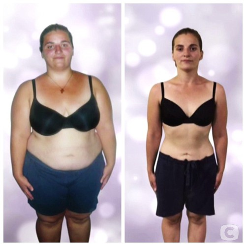 Соня Семесюк до и после похудения