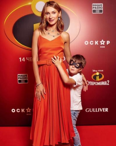 TAYANNA с сыном Даниэлем