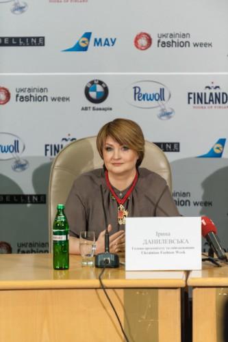 Организатор и глава оргкомитета Ukrainian Fashion Week Ирина Данилевская