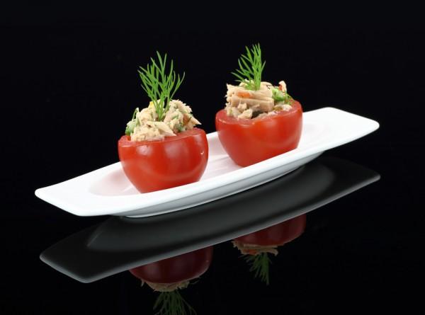 Рецепт                  Фаршированные помидоры с тунцом