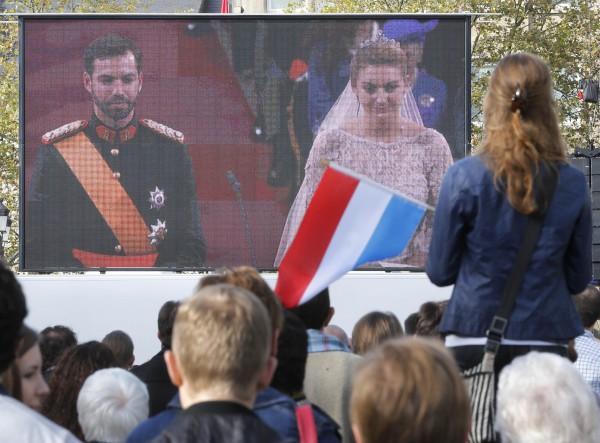 Принц Гийом и графиня Стефани де Ланнуа