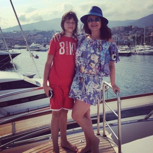 Наташа Королева показала сына instagram.com/natellanatella
