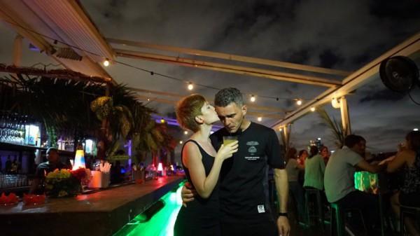 Алена Мороз с мужем