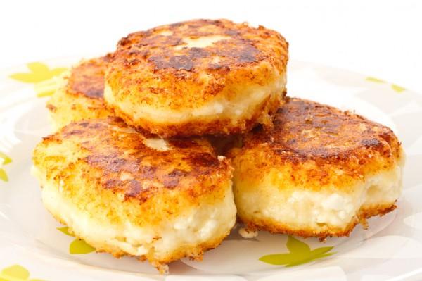 Рецепт                  Сырники с картофелем и морской капустой