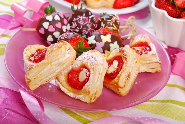 Печенье на День святого Валентина