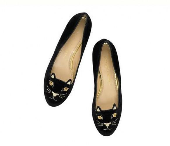Знаменитые балетки-кошки стали частью новой коллекции Charlotte Olympia