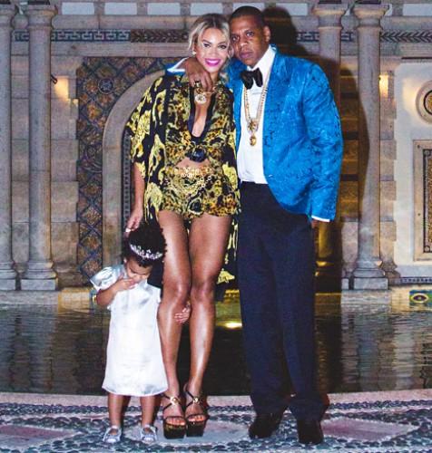 Семейное фото Бейонсе