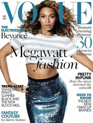 Бейонсе на обложке британского Vogue, май 2013