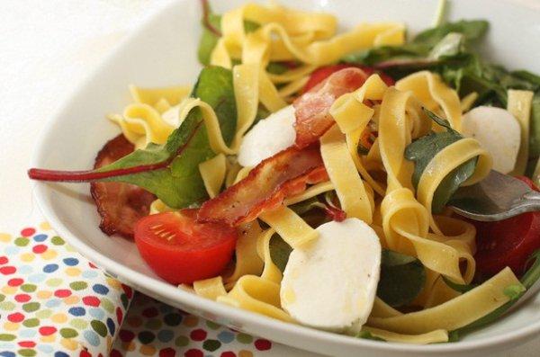 Рецепт                  Итальянский салат с пастой