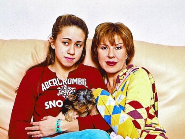 Любов Успенская с дочерью Таней