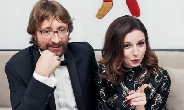 Алиса Хазанова и Дмитрий Шохин