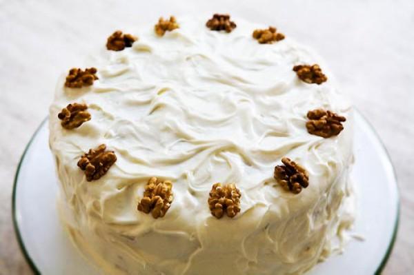 Рецепт                  Морковный торт с орехами