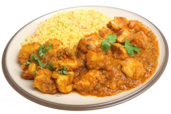 Рецепт                  Карри из курицы с рисом