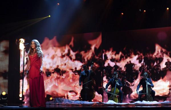 Светлана Могилевская пострадала на съемках шоу (фото)