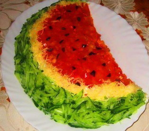 Рецепты вкусных и красивых праздничных салатов с
