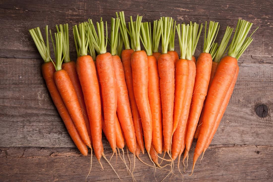 Не все дети любят морковь, но она бесконечно полезна для зрения малышей