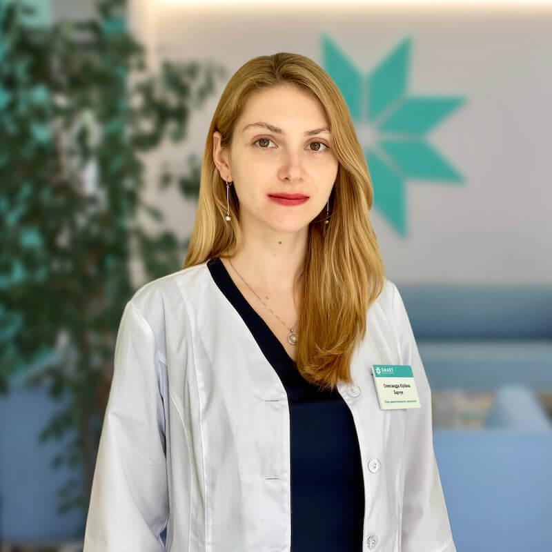 Врач-дерматоонколог Александра Барчук