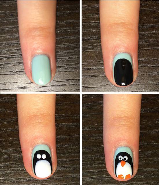 Мастер класс дизайн ногтей новый год