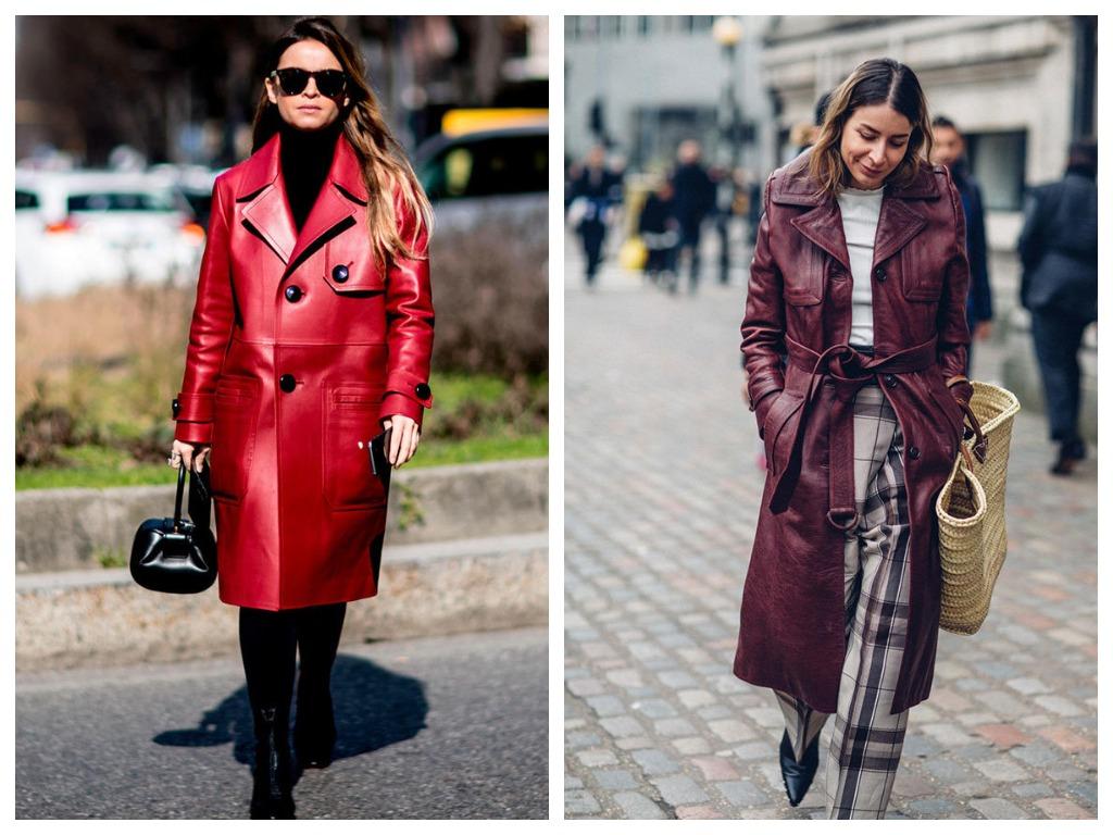 Кожаное пальто в стиле Тринити станет вашим любимым предметом гардероба