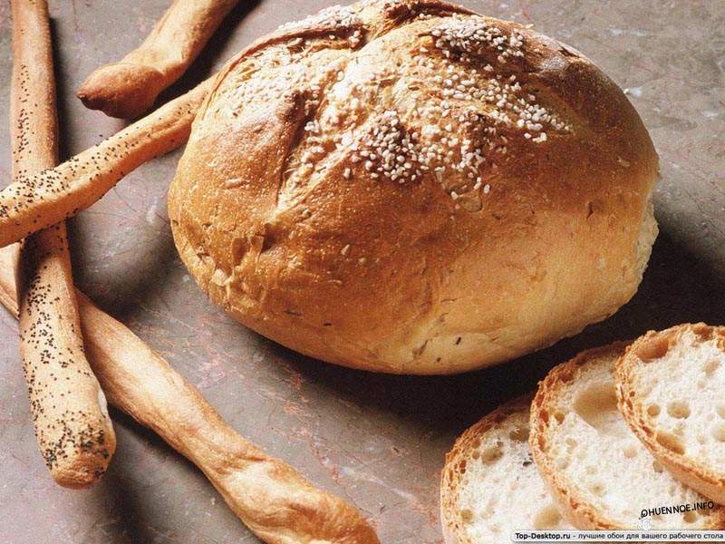 Хлеб из цельнозерновой муки богат клетчаткой