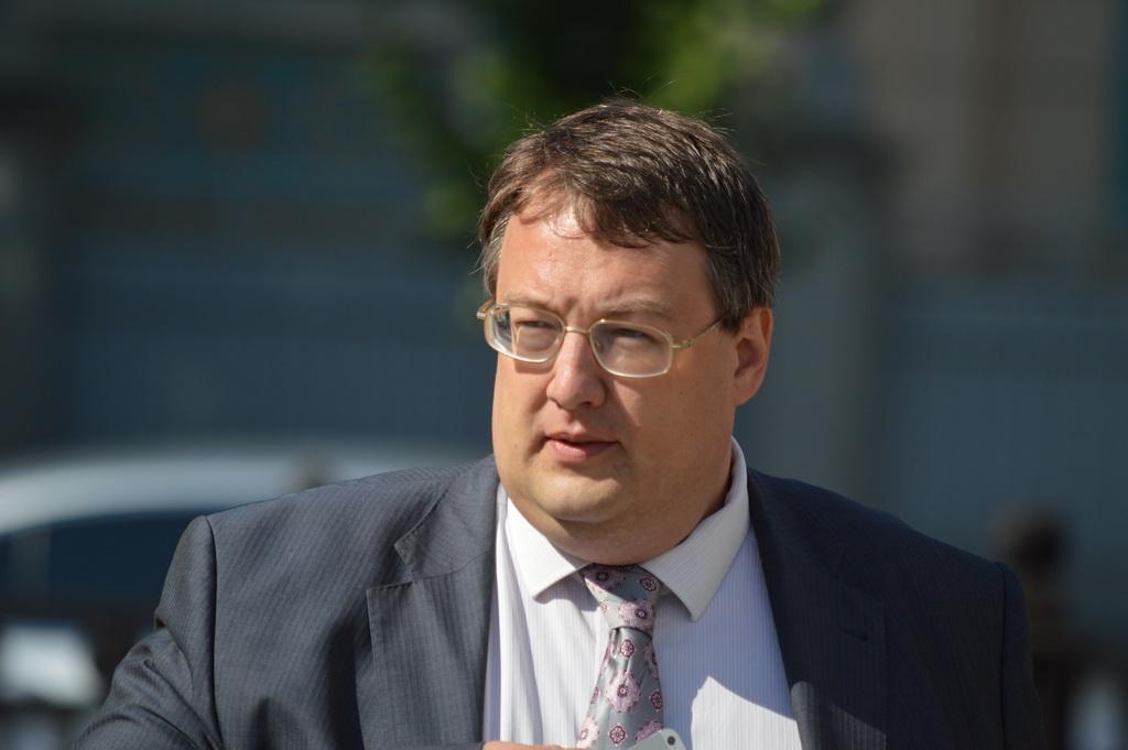 Народный депутат Антон Геращенко