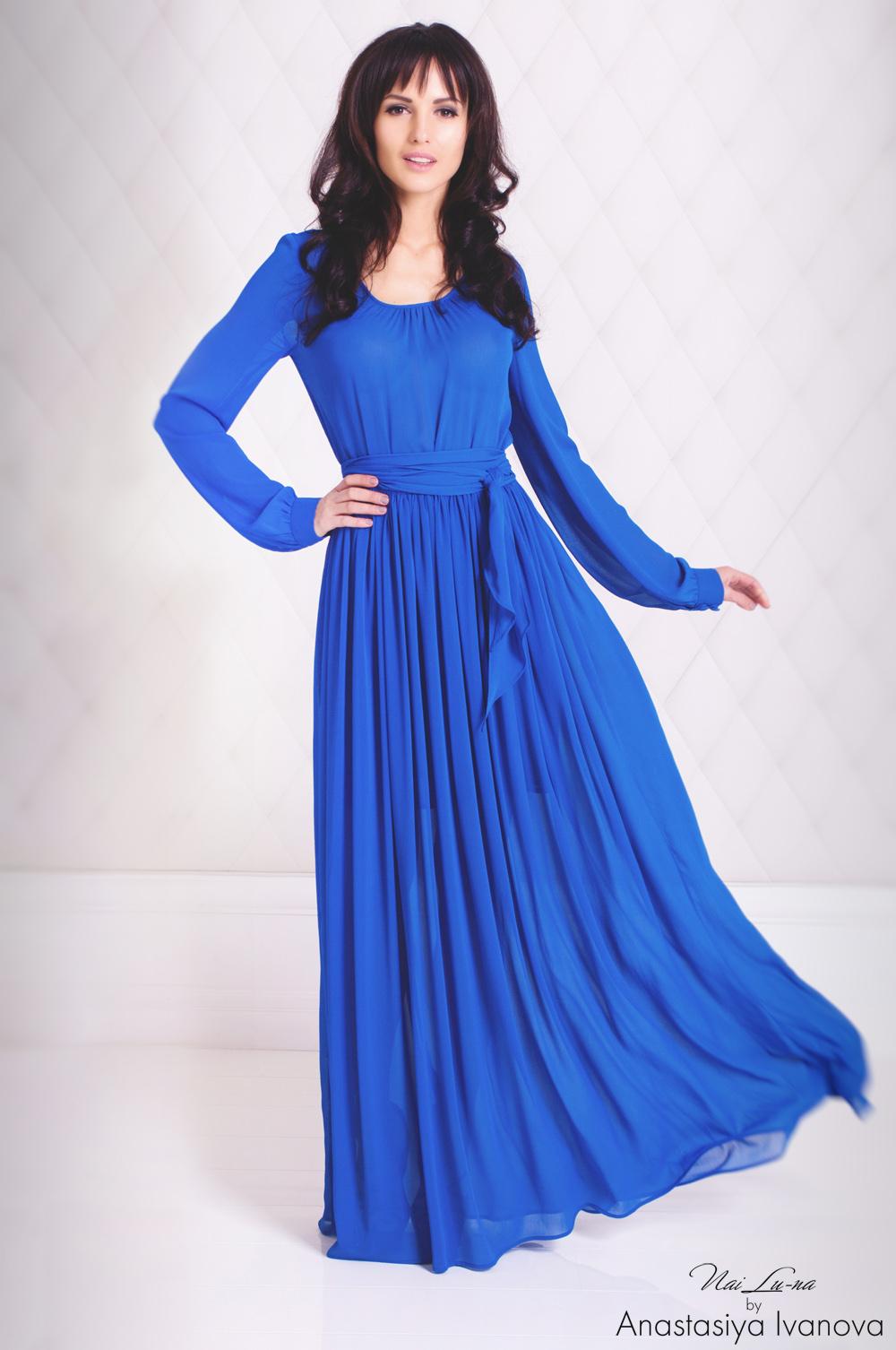 Сейчас особенно популярны платья в стиле new look