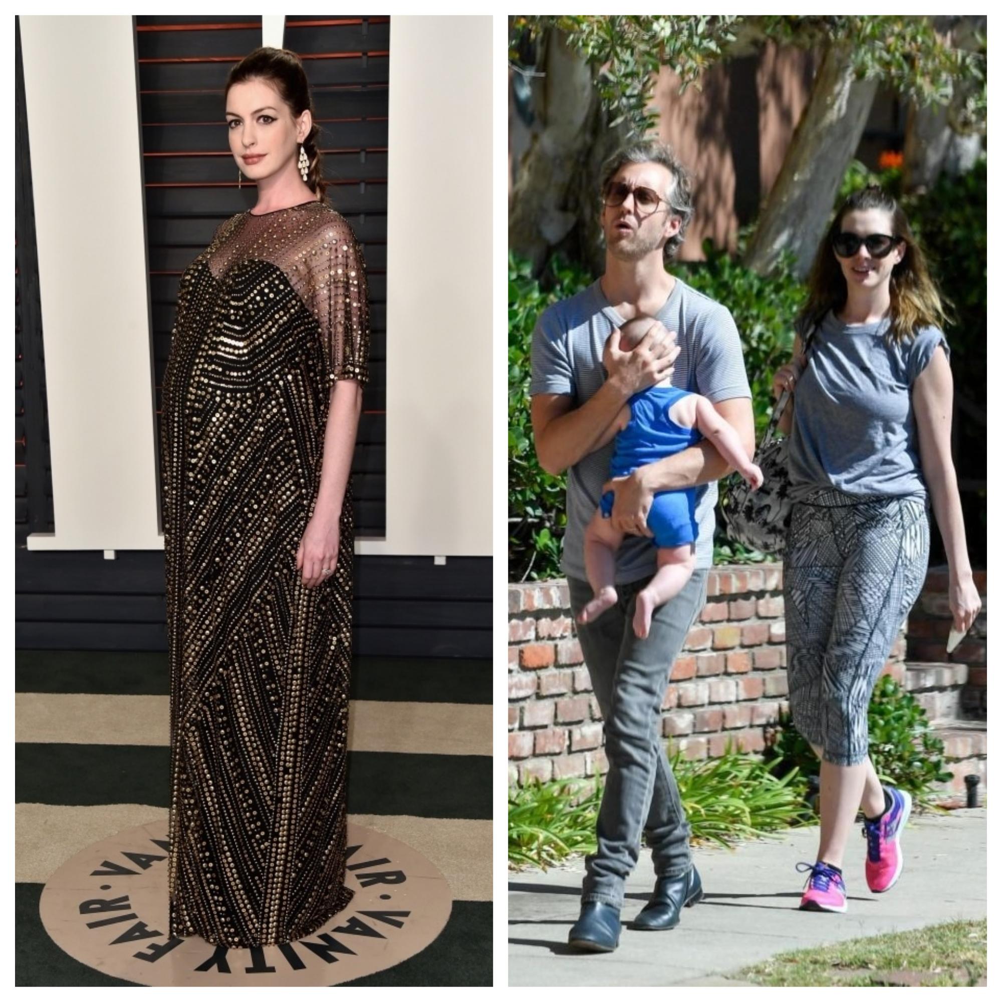 Энн Хэтэуэй беременна во второй раз, но мы уверены, что вернуть тело в форму ей удастся также быстро