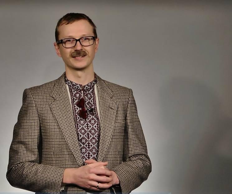 Украинский ведущий Майкл Щур