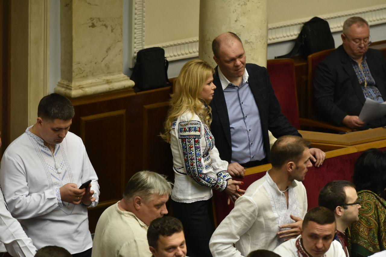 Татьяна Донец с супругом Денисом Дзензерским, фото: Аркадий Манн,