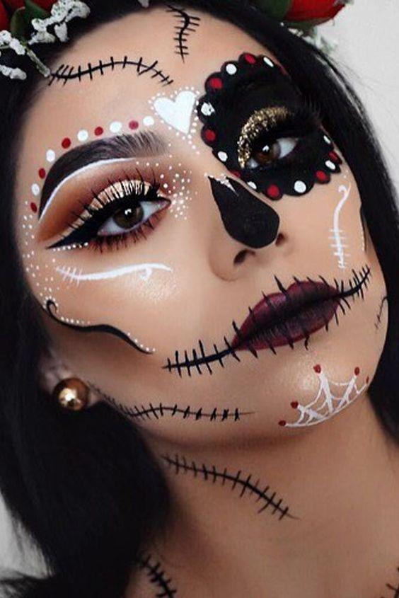 Арт-визаж на Хэллоуин