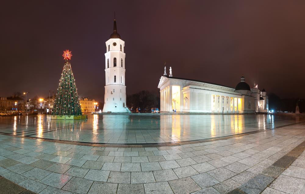 Вильнюс на праздники