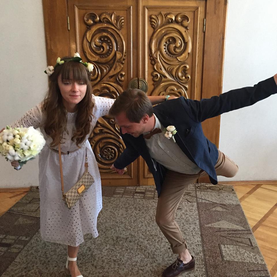 Сама Ткаченко и Сергей Ухин