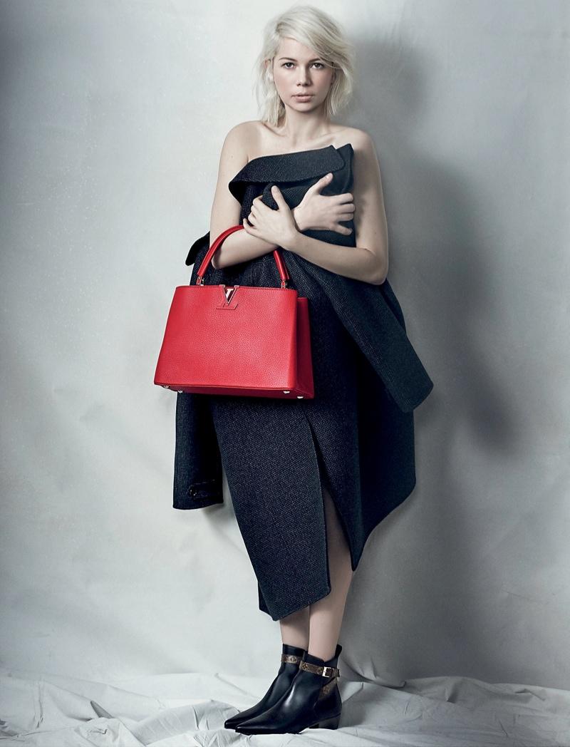 Мишель Уильямс снялась в рекламе сумок Louis Vuitton