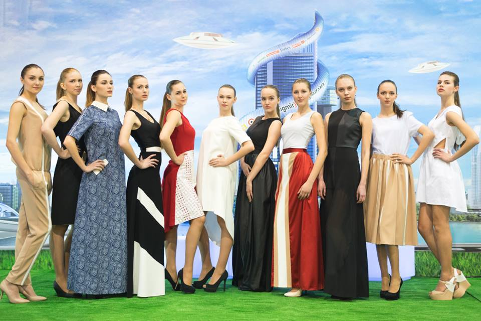 Коллекция SS 2015 от бренда Liudmila Chernetskaja