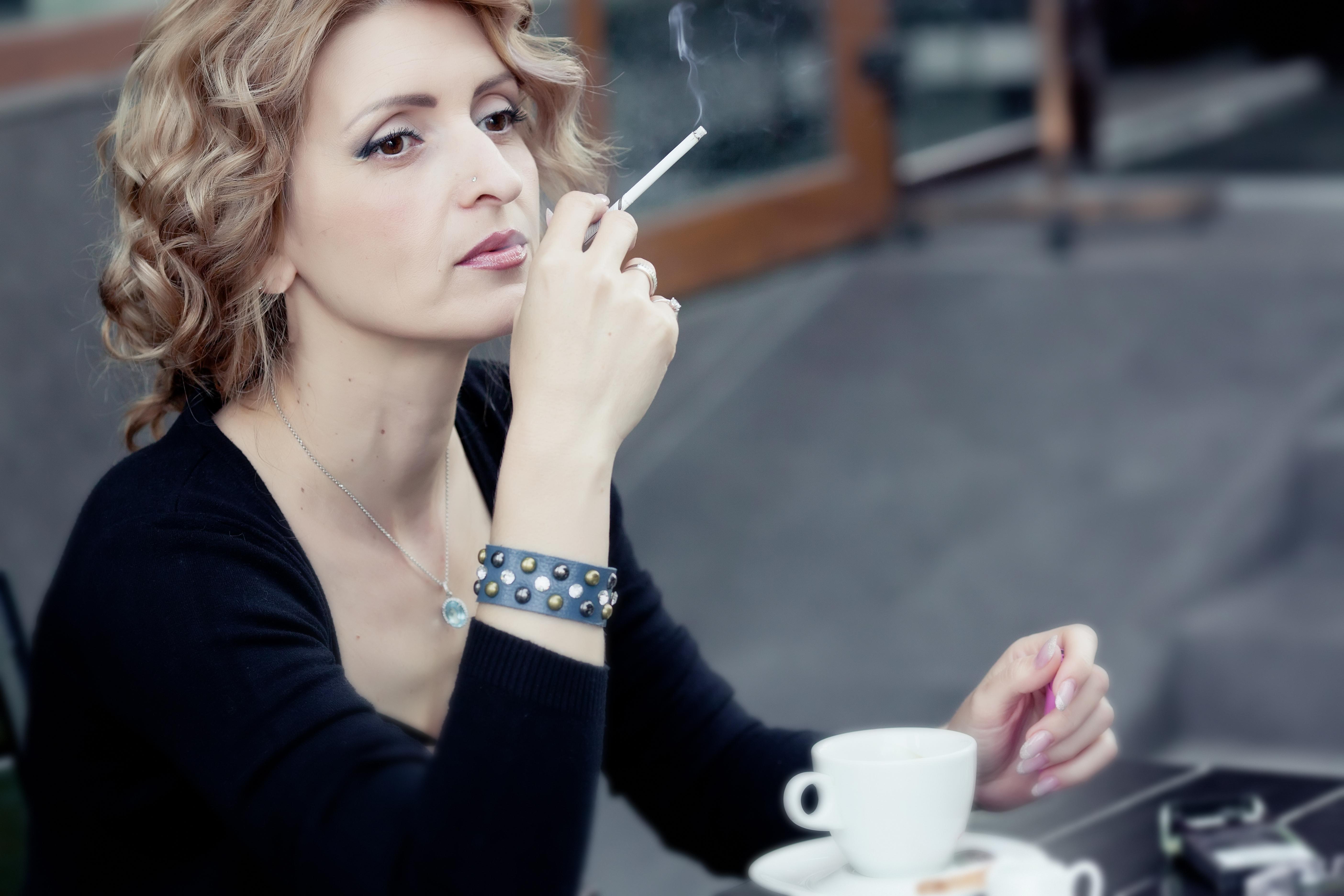 Женская сексуальность курение