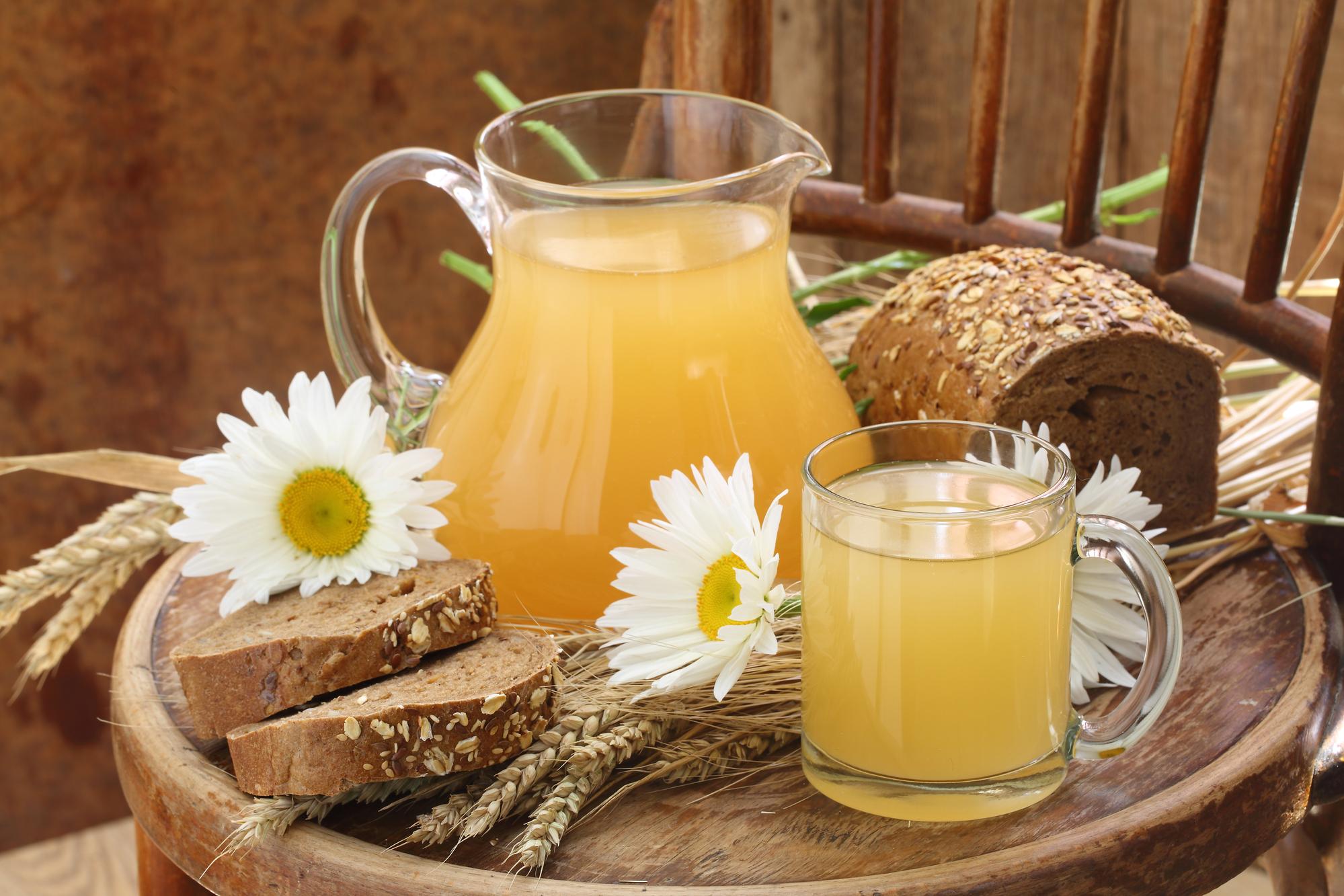 Квас с цикорием - домашний рецепт