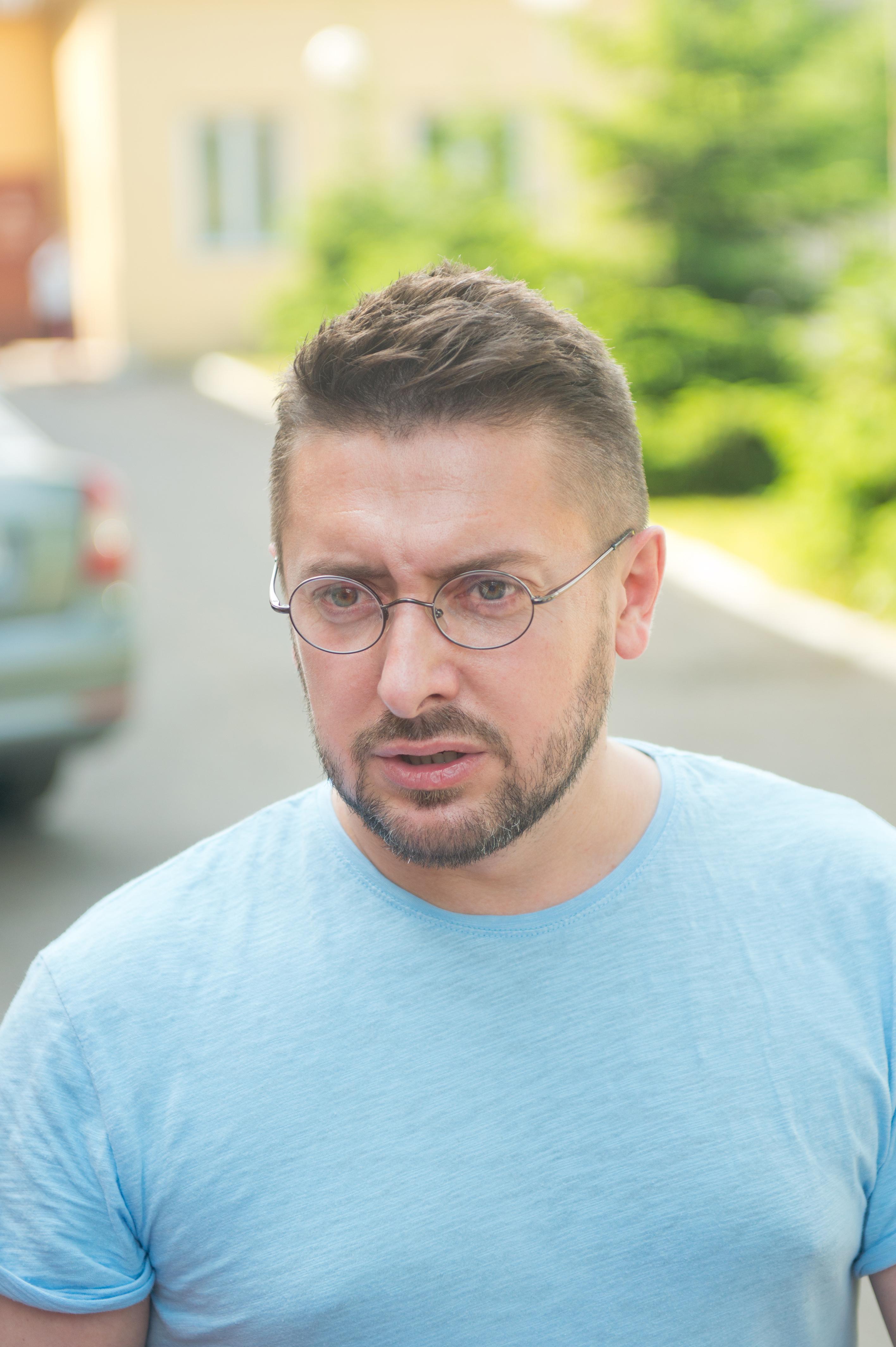 Алексей Суханов, ведущий ток-шоу Говорить Україна