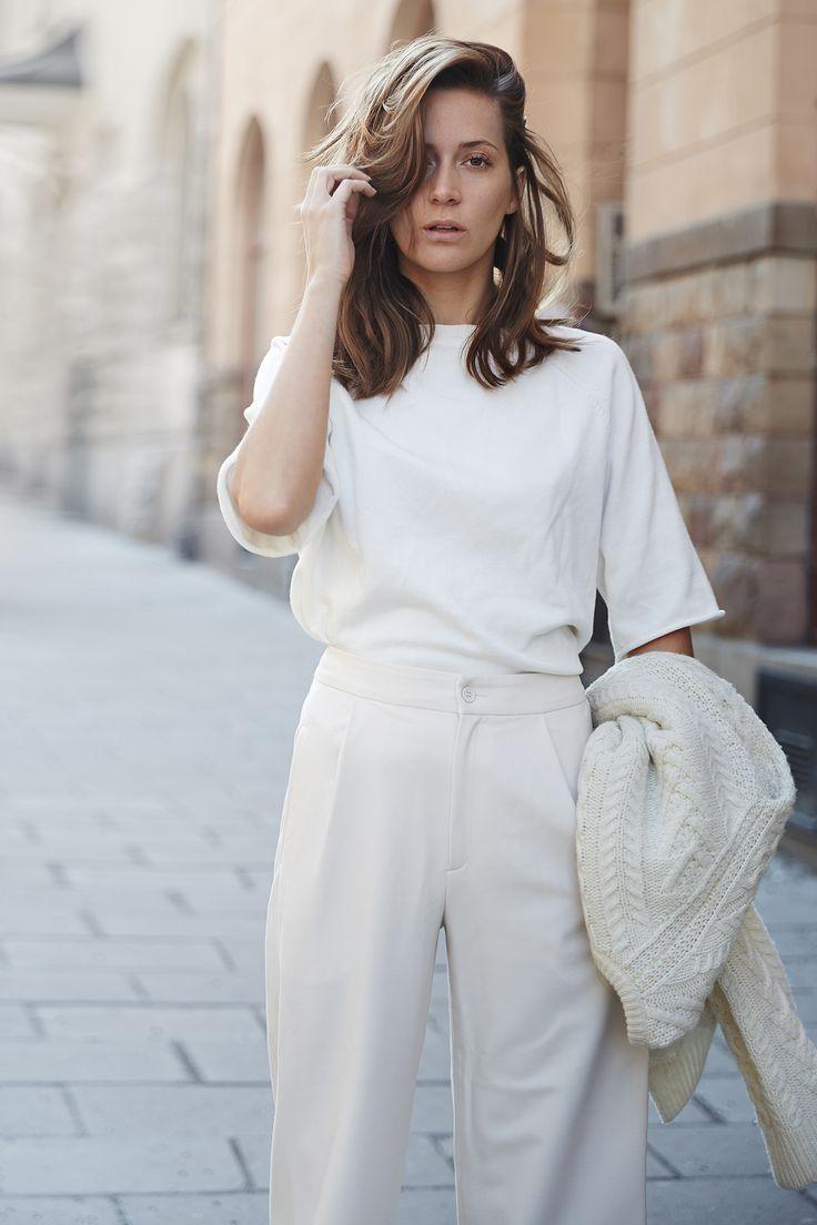 Как носить белый цвет летом 2020