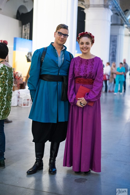 Камерон Сильвер в Киеве примерил на себя образ казака