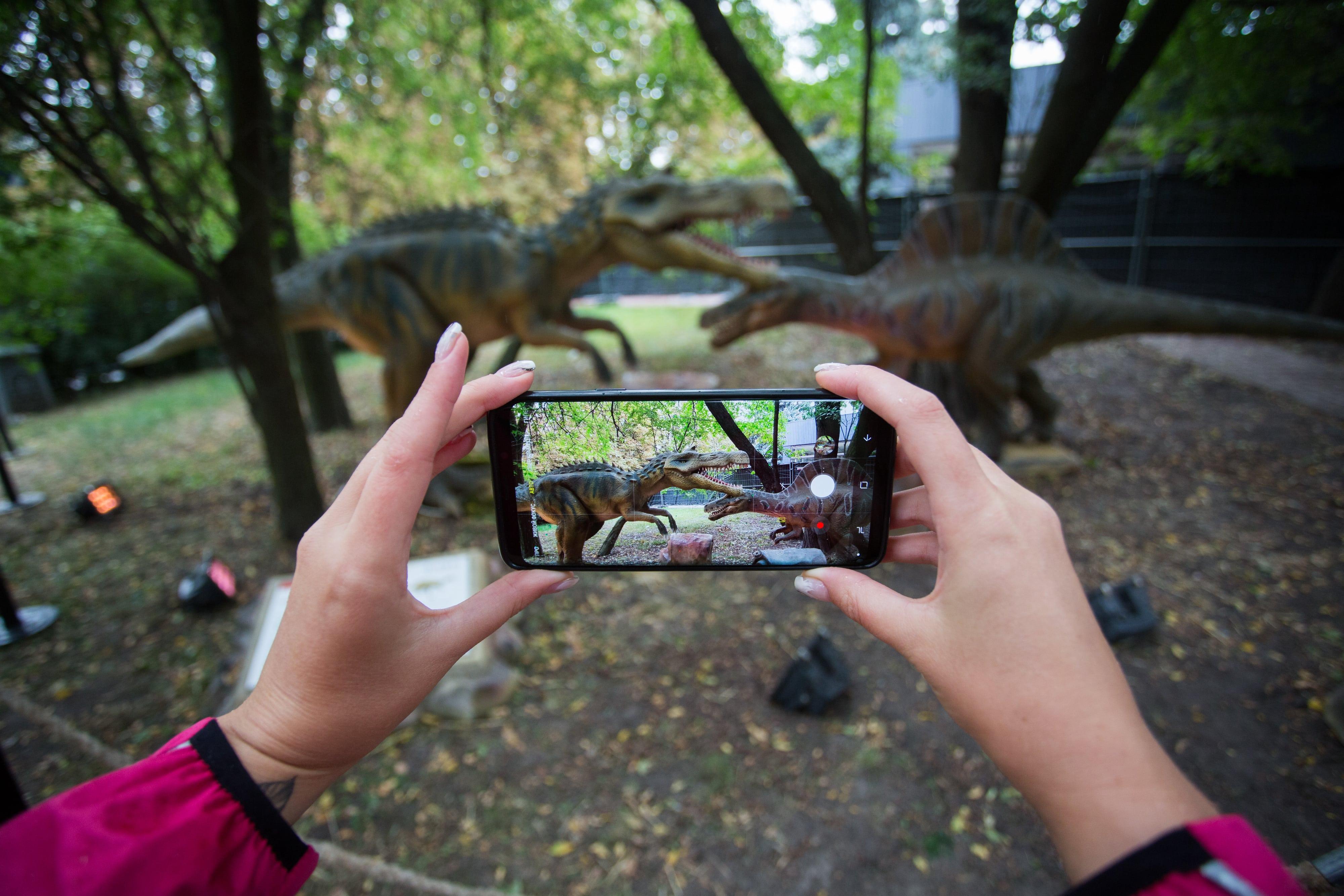 Планета Динозавров на ВДНГ