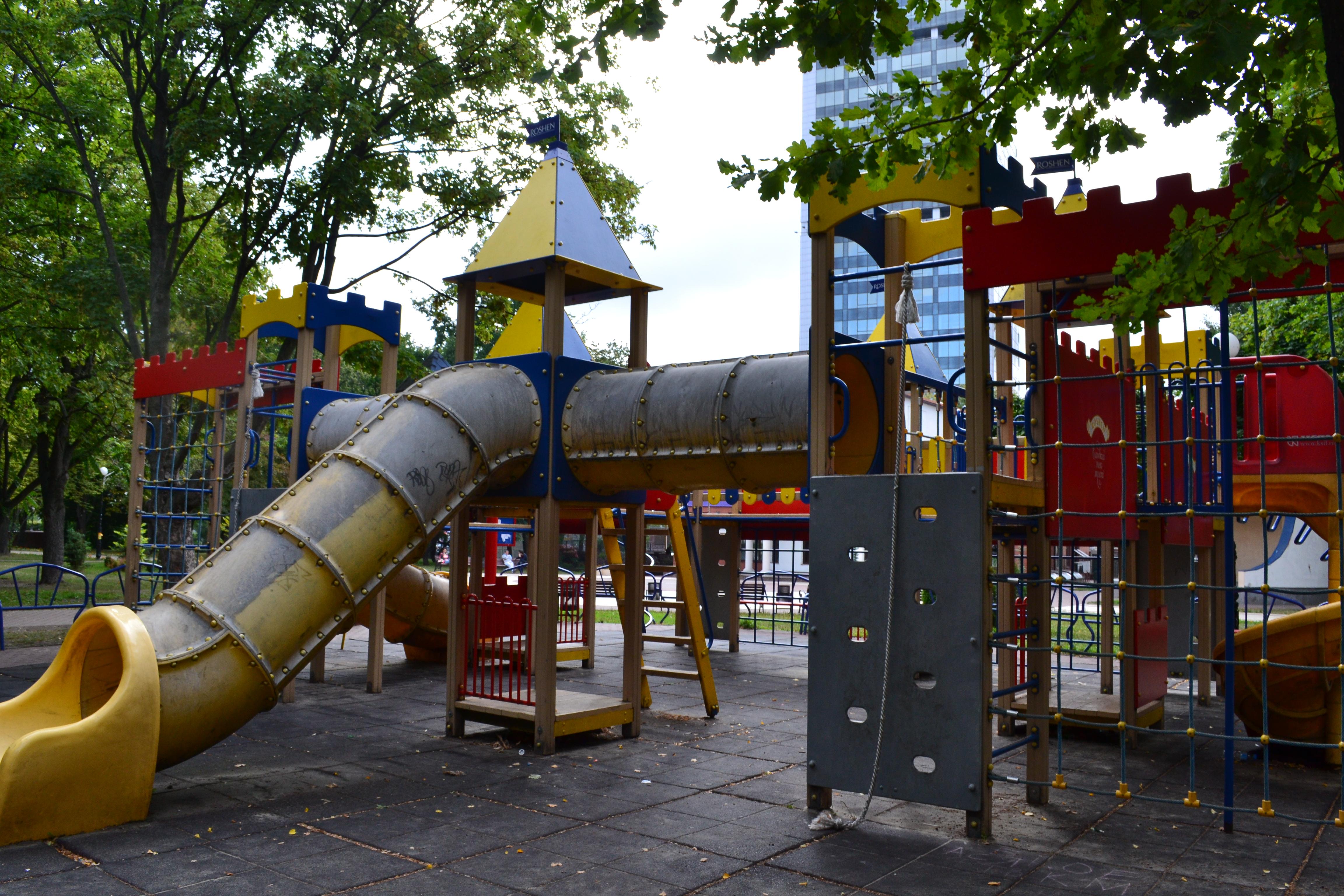 детские места в киеве, Площадка Roshen в парке на Соломенской площади