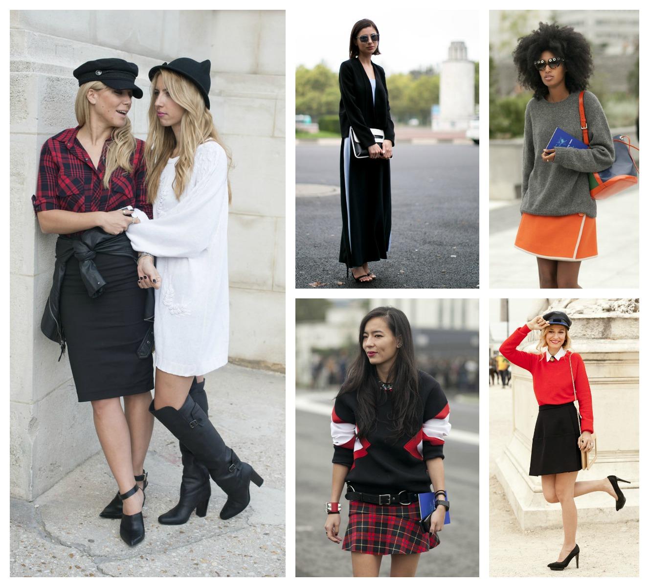 Стильные образы Street style на Неделе моды в Париже