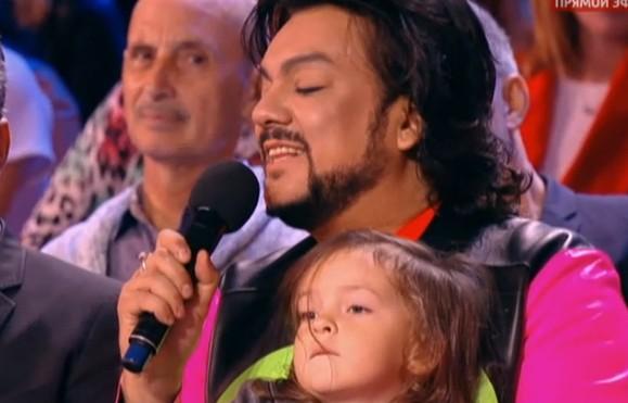 Новая волна 2015: Киркоров с дочкой