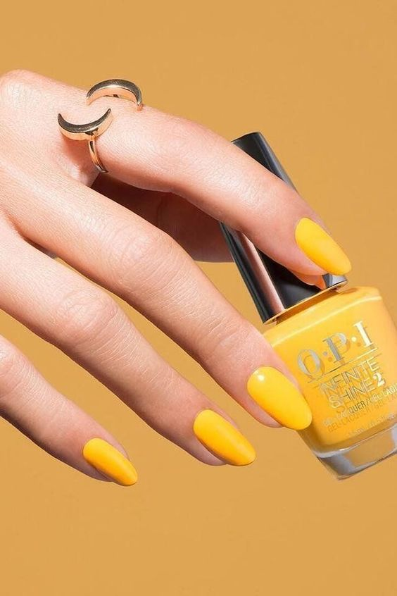 Осенний дизайн для ногтей