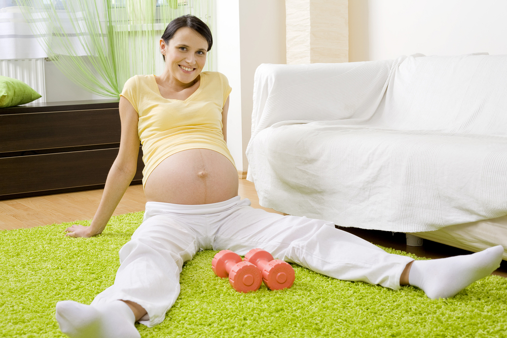 Состояние беременных в первую неделю
