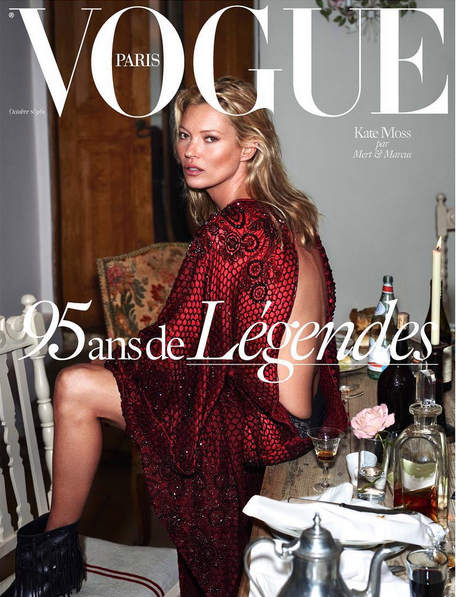 Британская модель Кейт Мосс