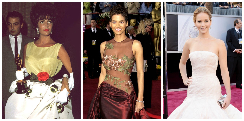 Каждая церемония Оскар отражает новую модную эпоху
